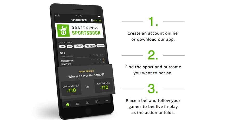 Draft kings sports betting app