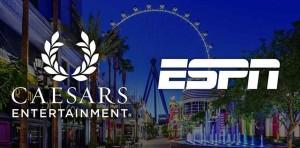 ESPN, Caesars Entertainment Partner for Sports Betting