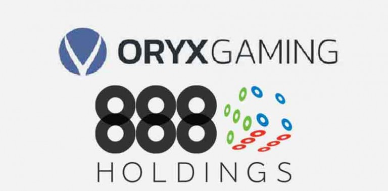 ORYX Gaming Inks Partnership Agreement With 888 Holdings