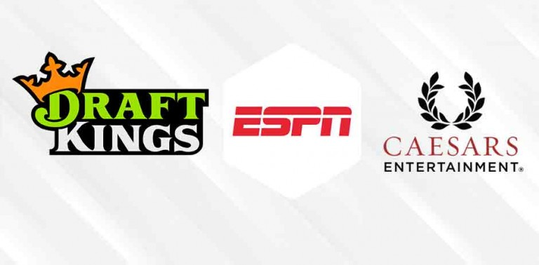 DraftKings and Caesars Ink New Deals With ESPN