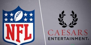 NFL Inks First Sponsorship Deal with Caesars Entertainment