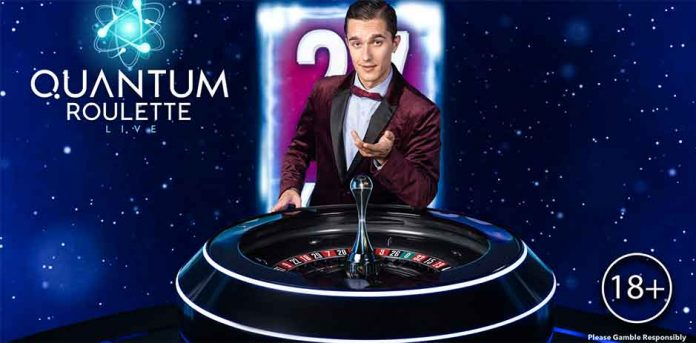 Image result for quantum roulette playtech