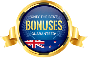 badge of the best casino bonuses in new zealand