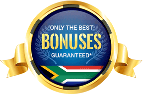 badge for the best casino bonuses in south africa