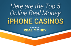 image of the top 5 real money iphone casinos