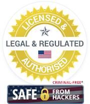 Legal & Regulated US Online Casinos Badge