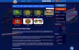 Casino games at All Slots Casino