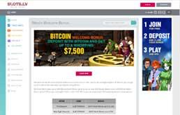 Slots.lv Bitcoin Bonus