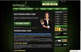 Springbok Casino VIP program