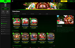 Casino games at 888 Casino