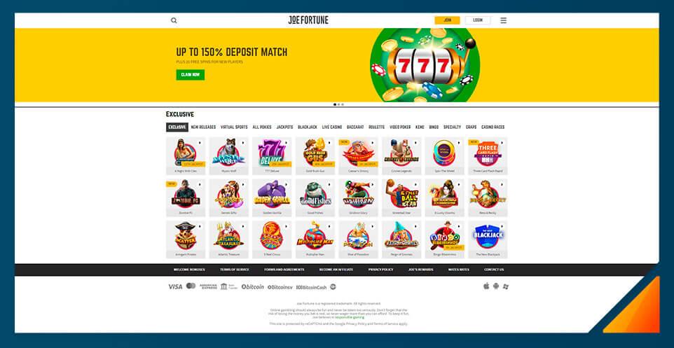 Image of Joe Fortune - Best Australian Online Casino