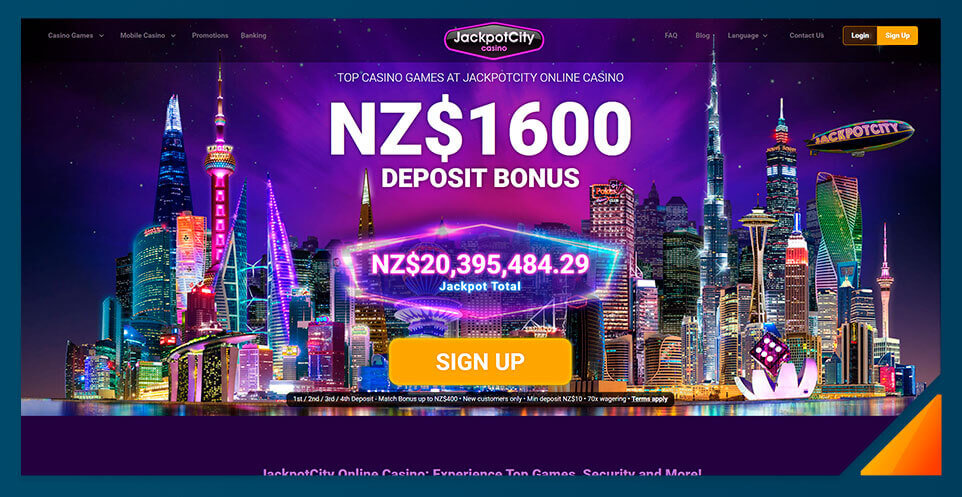 Image of Jackpot City NZ