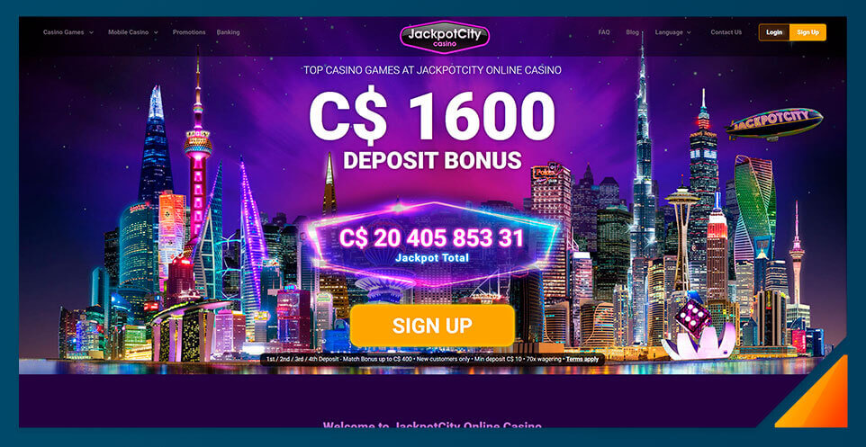 Image of Best Online Casino Canada Jackpot City