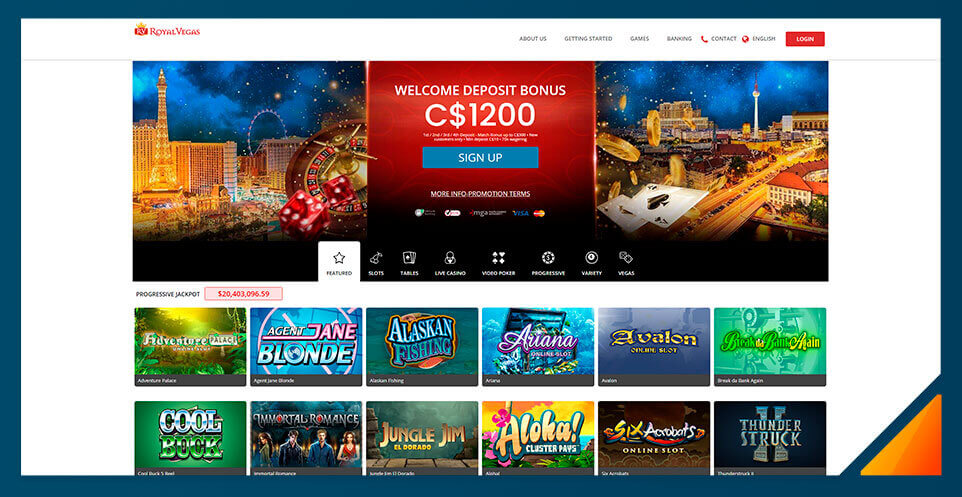 Image of Best Online Casino Canada Royal Vegas