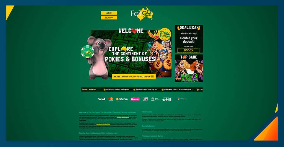 Image of South Africa Fair Go Casino