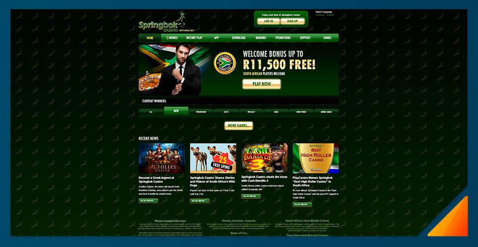 Image of South Africa Springbok Casino