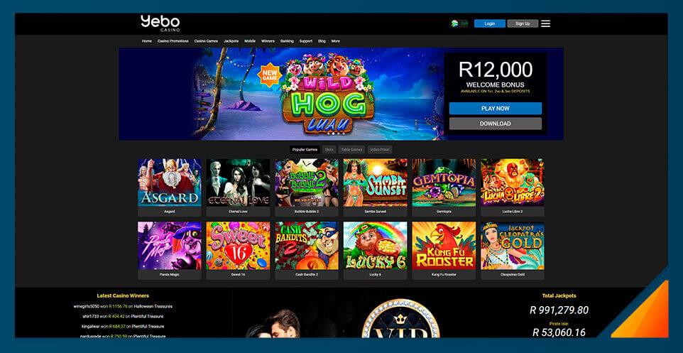 Image of South Africa Yebo Casino