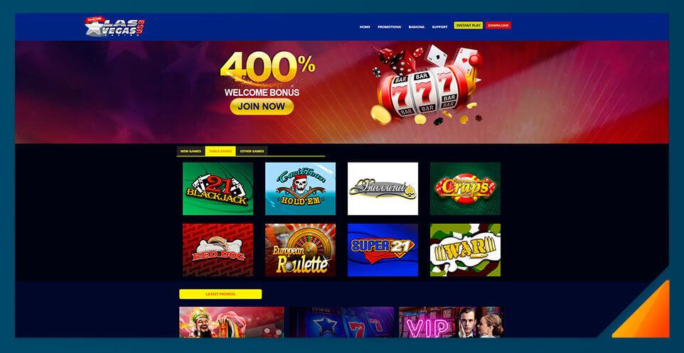 Image of Real Money Casino Las Vegas USA
