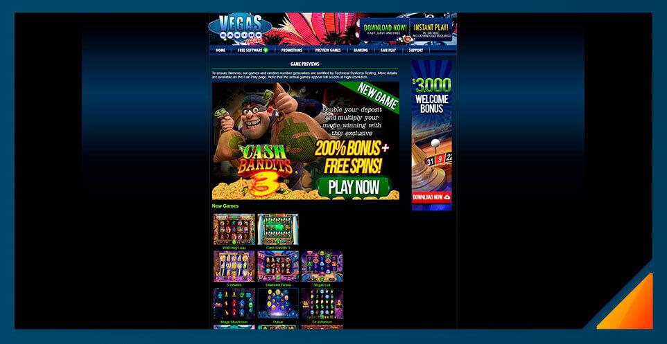 Image of Real Money Casino Vegas Casino Online