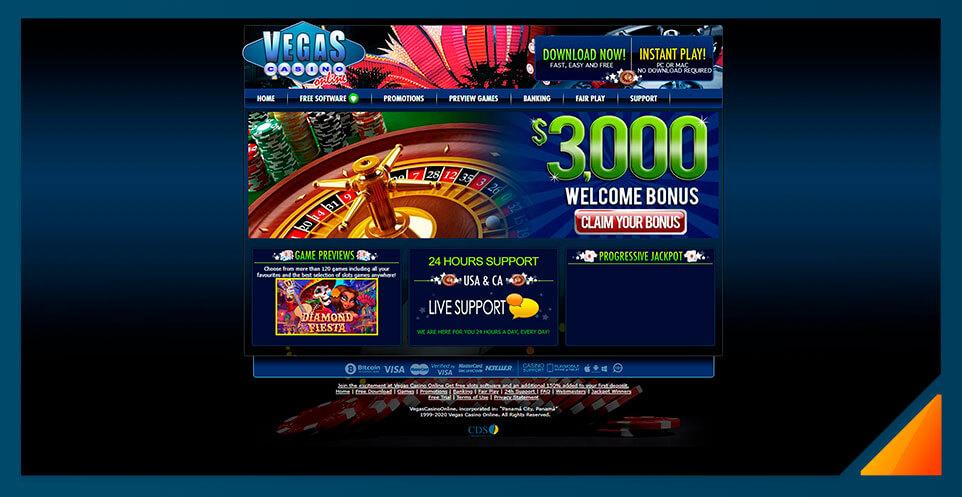 Image of Vegas Casino Online -Best US Online Casino