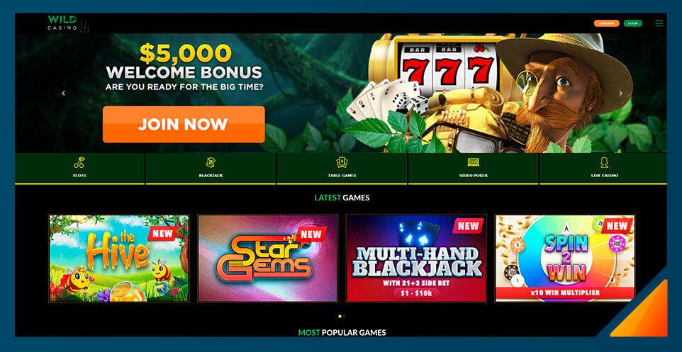 Image of Wild Casino -Best US Online Casino