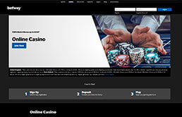 Betway Casino Welcome Bonus