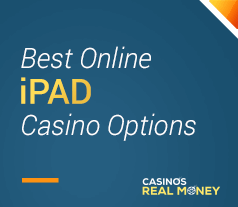 header image for the best online ipad casino options