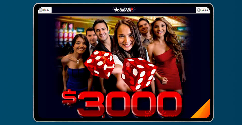 image of Las Vegas USA Casino App on IPad