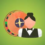 Live Dealer Roulette Icon