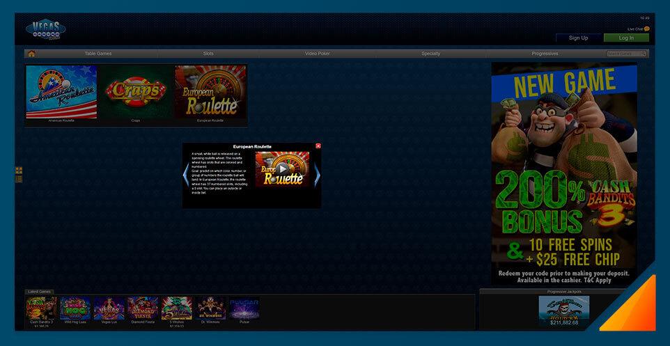 Image of Vegas Casino Online Roulette Games