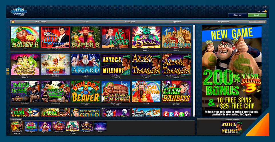 Image of Vegas Casino Online slot games