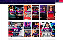 Live Casino Dealers at Party Casino