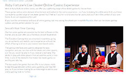 Image of Ruby Fortune Live Dealers