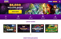 SuperSlots.ag Online Casino printscreen 1