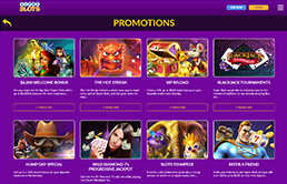 Image of Promotions at SuperSlots ag