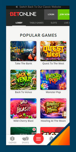 Image of Best Android Casino Betonline Casino