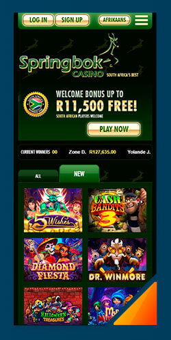 Image of Best Android Casino Springbok Casino