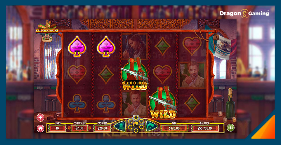 Image of Dragon Gaming Slot Game El Mariachi