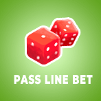 Pass Line Bet Craps Icon