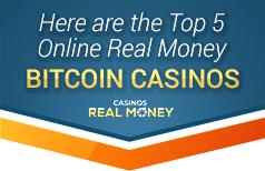 top 5 online real money bitcoin casinos
