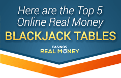 top 5 recommended blackjack sites