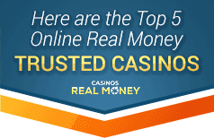 top 5 online real money trusted casinos
