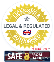 Licensed & Authorised, Legal & Regulated UK Casinos. Criminal-Free and Safe from Hackers.
