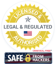 Licensed & Authorised, Legal & Regulated US Casinos. Criminal-Free and Safe from Hackers.