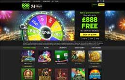 888 Casino printscreen 1