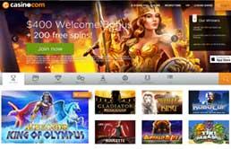 Casino.com printscreen 1