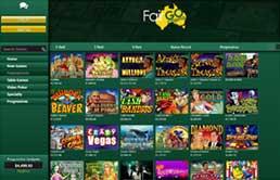Fair Go Casino printscreen 1