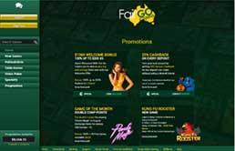 Fair Go Casino printscreen 3