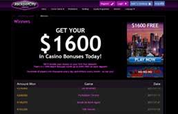 JackpotCity Casino printscreen 3