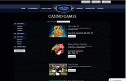 Lincoln Casino printscreen 3